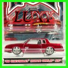 Maisto 1:64 1986 Chevrolet Monte Carlo SS 1:64 G Ridez Quality Diecast Luxy Collectibles Red