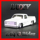 Maisto 1:64 1987 CHEVROLET 1500 CHEVY G RIDEZ Quality Diecast Car Model Luxy Collectible White