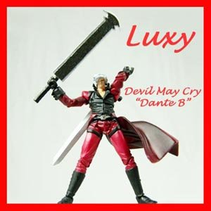 Devil May Cry Dante Action Figure Luxy Anime PS2 Character Quality dmc2