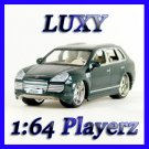 Maisto 1:64 PORSCHE CAYENNE TURBO EXCLUSIVE Playerz Maisto Diecast Car Luxy Green