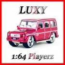 Maisto 1:64 MERCEDES BENZ G CLASS DUB Playerz Diecast Car Model Luxy Collectibles Red