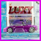 Maisto 1:64 LAMBORGHINI MURCIELAGO DUB Playerz Diecast Car Model Purple