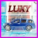 Maisto 1:64 INFINITI Q56 DUB 1:64 Playerz Diecast Car Model Luxy Metallic Dark Blue
