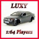 Maisto 1:64 BMW 760Li Luxury Pimp DUB Playerz Diecast Car Model Luxy Collectibles Black