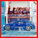 Maisto 1:64 2005 DODGE MAGNUM R/T DUB Playerz Diecast Car Model Luxy Collectibles Dark Blue