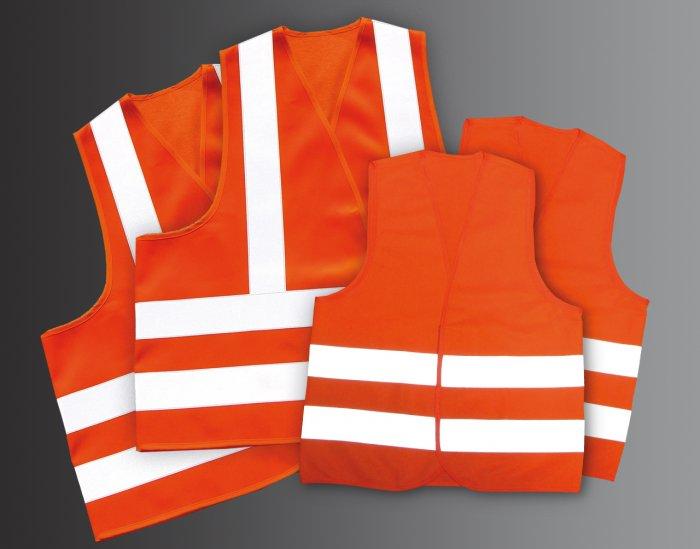 Family Safety Vest Set - Orange - SKU 5010