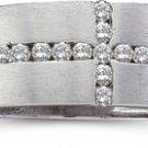 1/4 ctw Diamond Cross Ring size 9
