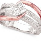 Peter Lam 1/2 ctw Princess Cut Diamond Ring in 18k  size 7