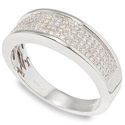 1/2 ctw Men's Diamond Wedding Band 14-k size 8