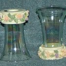 House of Lloyd Victorian Rose Light Covers Set of 2. Free Shipping