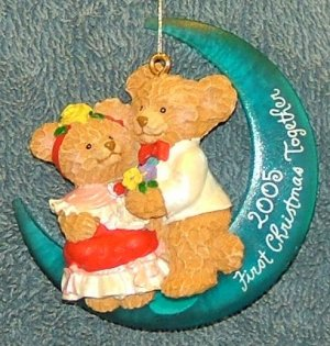 American Greetings First Christmas Together 2005 Ornament Free Shipping