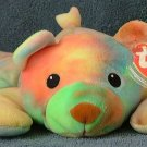TY Pillow Pals Sherbet the Bear 1998 Retired Free Shipping