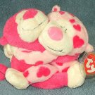 TY Beanie Baby Rome & Juliet Love Monkeys 2005 Retired Free Shipping