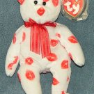 TY Beanie Baby Smooch the Bear 2000 Retired Free Shipping