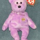 TY Beanie Baby Yours Truly Bear 2002 Retired Free Shipping