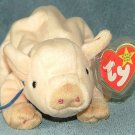TY Beanie Baby Knuckles the Pig 1999 Retired Free Shipping