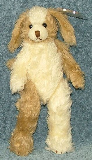 TY Beanie Baby Attic Treasures Scruffy the Dog 1993 Retired Free Shipping