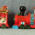 Midwest Bisque Train Car Santa Express Set of 4