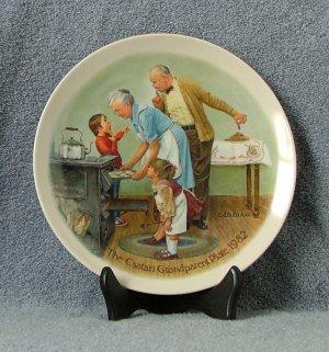 Knowles Csatari Grandparent Plate 1982 Cookie Tasting