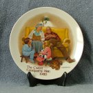 Knowles Csatari Grandparent Plate 1980 Bedtime Story