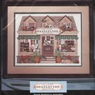 Vintage Bucilla Counted Cross Stitch Village Needlework Shoppe