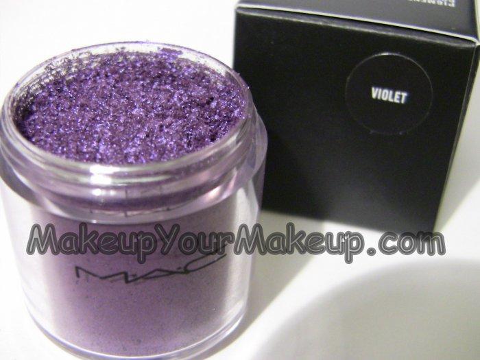 Violet MAC Pigment Sample