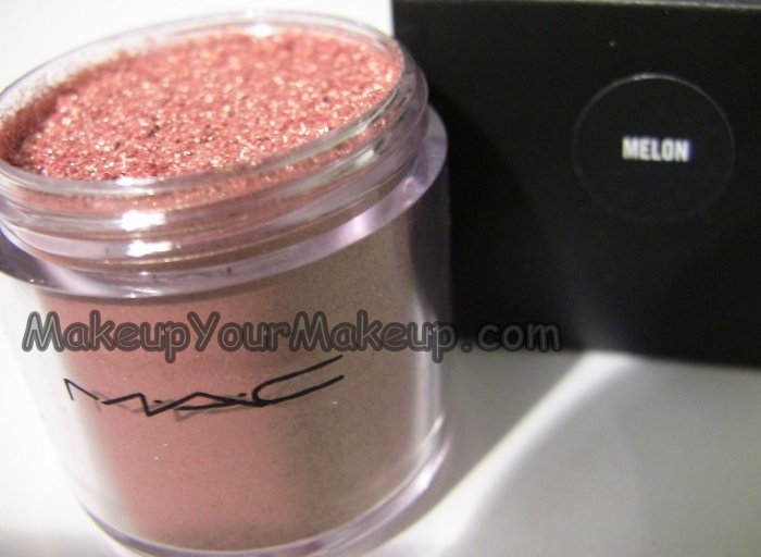 Melon MAC Pigment Sample