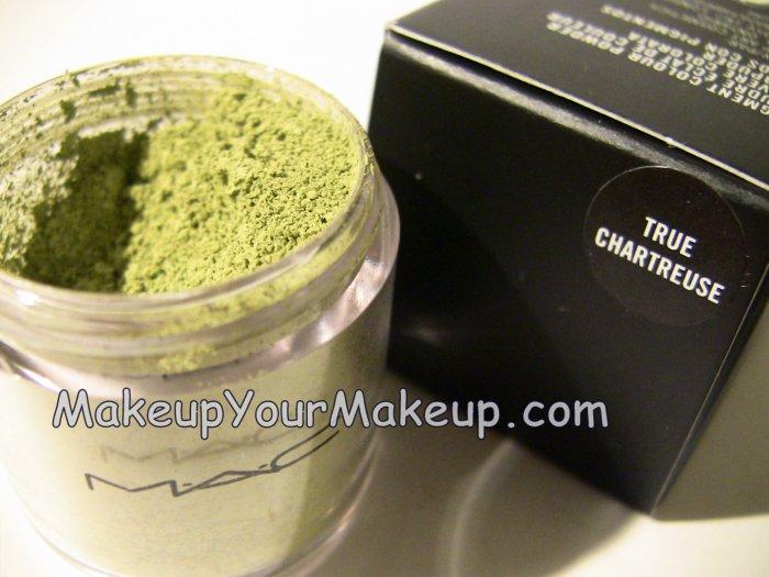 True Chartreuse MAC Pigment Sample