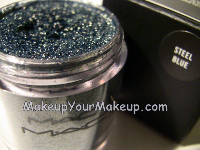 Steel Blue MAC Pigment Sample