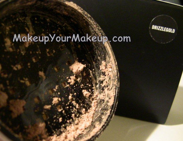 Drizzlegold MAC Loose Beauty Powder Sample