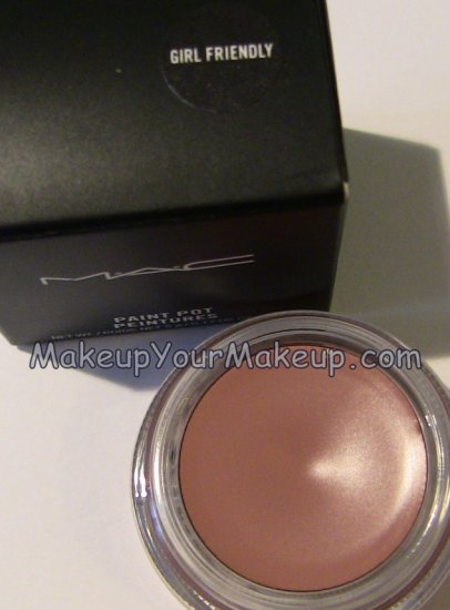 Girl Friendly MAC Paint Pot Sample