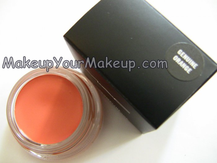 Genuine Orange MAC Chromaline Sample