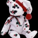 1998 Holiday Teddy Bear,  Ty Beanie Baby - Retired