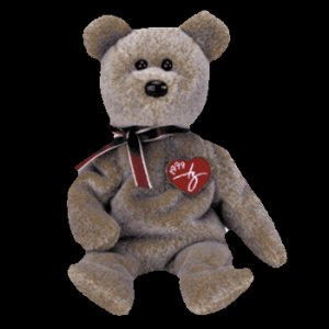 1999 Ty Signature Bear,  Ty Beanie Baby - Retired