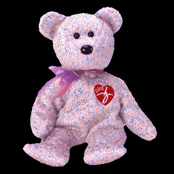 2001 Signature bear,  Ty Beanie Baby - Retired