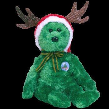 2002 Holiday bear,  Ty Beanie Baby - Retired