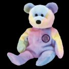 B. B. Bear the birthday bear,  Beanie Baby - Retired