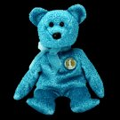 Classy the bear,  Beanie Baby - Retired