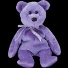 Clubby II the bear,  Beanie Baby - Retired