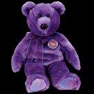 Clubby IV the bear ,  Beanie Baby - Retired