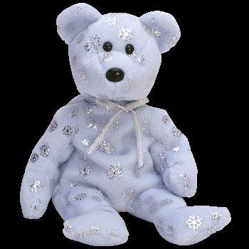 Flaky the bear,  Beanie Baby - Retired