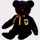 Freiherr von Schwartz the bear (German Exclusive),  Beanie Baby - Retired