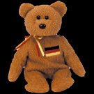 Germania the bear (German Exclusive),  Beanie Baby - Retired