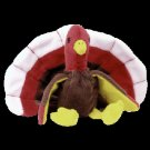 Gobbles the turkey,  Beanie Baby - Retired
