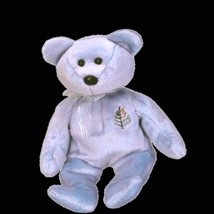 Issy the bear,  Beanie Baby - Retired