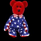 Liberty Red the bear (USA Exclusive) ,  Beanie Baby - Retired