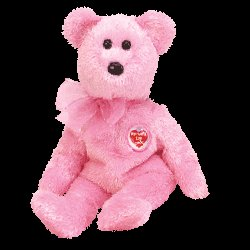 Mom - E 2003 bear,  Beanie Baby - Retired