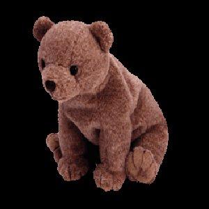Pecan the gold bear,  Beanie Baby - Retired