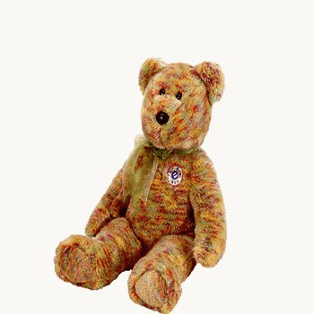 Speckles the E-beanie bear,  Beanie Baby - Retired