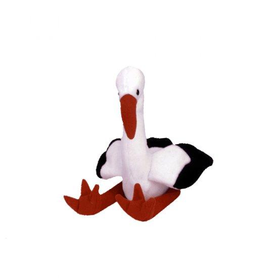 Stilts the stork,  Beanie Baby - Retired